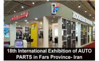 18th International Exhibition of AUTO PARTS in Fars Province- Iran 30 July - 2 August 2019